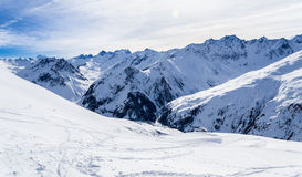 French mountains. Landscape photography of french mountains, in Alps Stock Image
