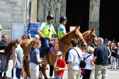 French mounted police-03 Royalty Free Stock Photos