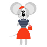 French Mouse Stock Photo
