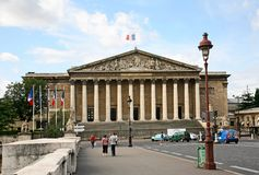 French National Assembly Royalty Free Stock Photos