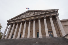 French national assembly Royalty Free Stock Images