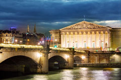French National Assembly, Paris, France Royalty Free Stock Image