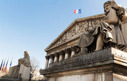 The French national Assembly , Paris, France Royalty Free Stock Images