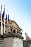 The French National Assembly, Paris, France Royalty Free Stock Photo