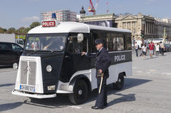 French National Police Royalty Free Stock Photo