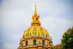 The French National Residence of the Invalids in Paris Royalty Free Stock Images