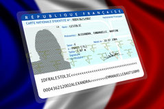 French Nationality (female 2) Royalty Free Stock Photos