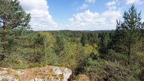 French Natural park Royalty Free Stock Image