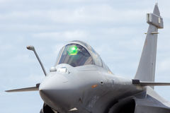French Navy fighter jet Stock Photography
