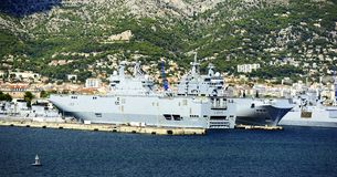 French Navy Stock Image