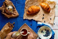 french śniadanie Fotografia Royalty Free