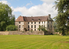 French Norman Chateau Royalty Free Stock Photos
