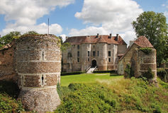 French Norman Chateau Royalty Free Stock Photo