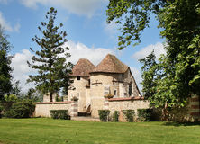 French Norman Chateau Stock Photo
