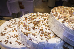 French nougat in Alsace, France. Stock Photography