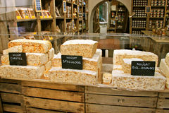 French Nougat Delicatessen Royalty Free Stock Photos