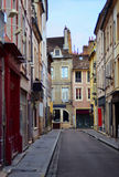 French old town street Royalty Free Stock Image