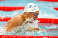 French olympic medalist swimmer Hugues Duboscq Stock Images