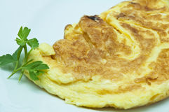 French omelet Royalty Free Stock Image