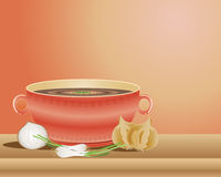 French onion soup stock illustration
