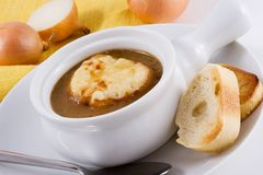Free French Onion Soup Stock Photos - 476263