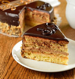 French opera cake Royalty Free Stock Photo