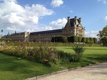French Palace Royalty Free Stock Photos