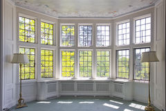 French Pane Window Interior Royalty Free Stock Images