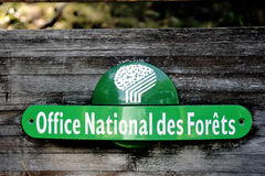 French panel of the ONF Stock Image