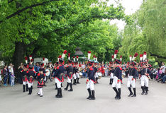 French parade Royalty Free Stock Images