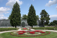 French Park garden in  Lednice in Czech Republic in Europe Stock Photography