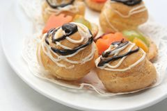 French pastry stock photos