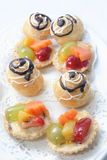French pastry Royalty Free Stock Photos