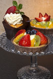 French Pastry - Cakes Stock Images