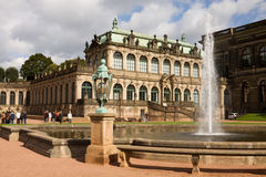 The French pavilion in the Zwinger Stock Photos
