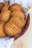 French peanut biscuits Royalty Free Stock Photos