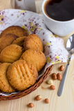 French peanut biscuits Stock Photo