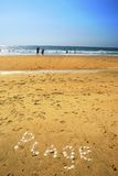 French Plage Stock Photo