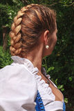French plait Stock Images