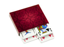 French playing cards Stock Photo