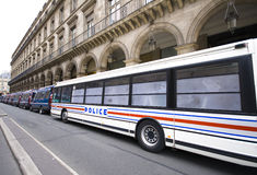 French police Stock Photography
