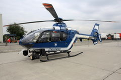 French police helicopter Stock Image