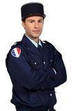 French policeman Stock Photos