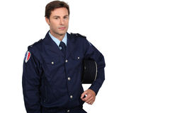 French policeman Royalty Free Stock Photography