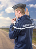French policeman Royalty Free Stock Images