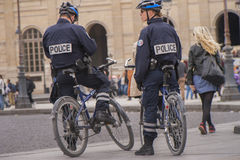French Policemen Stock Images