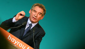 French politician Francois Bayrou Stock Photography