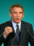 French politician Francois Bayrou Royalty Free Stock Image
