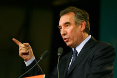 French politician Francois Bayrou Royalty Free Stock Images