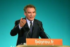 French politician Francois Bayrou Stock Photos